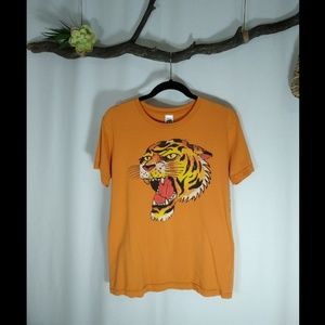 ED HARDY tiger tattoo print t-shirt